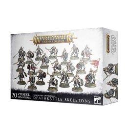 Games Workshop Warhammer Age of Sigmar: Deathrattle Skeletons