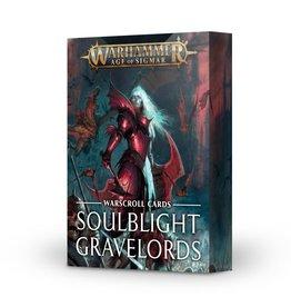 Games Workshop Warscroll Cards: Soulblight Gravelords