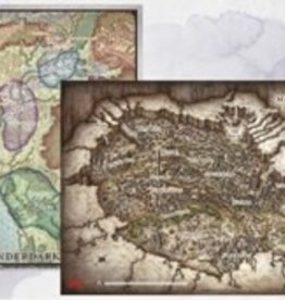 Gale Force Nine D&D: Game Mat - Out of the Abyss Map Set