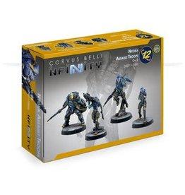 Corvus Belli Infinity: O-12 Nyoka Assault Troops