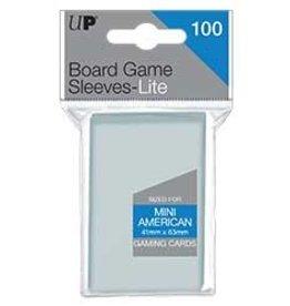 Ultra Pro Ultra Pro: Board Game Sleeves Lite - Mini American
