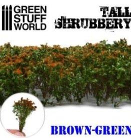 Green Stuff World Green Stuff World: Tall Shrubbery Brown/Green