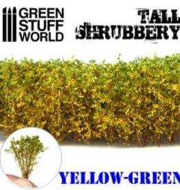 Green Stuff World Green Stuff World: Tall Shrubbery- Yellow Green