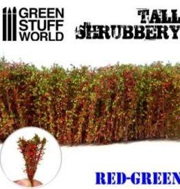 Green Stuff World Green Stuff World: Tall Shrubbery- Red Green