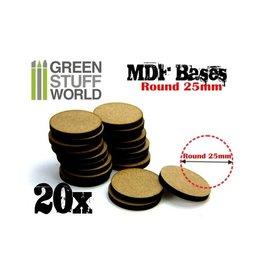 Green Stuff World: MDF Round 25 MM