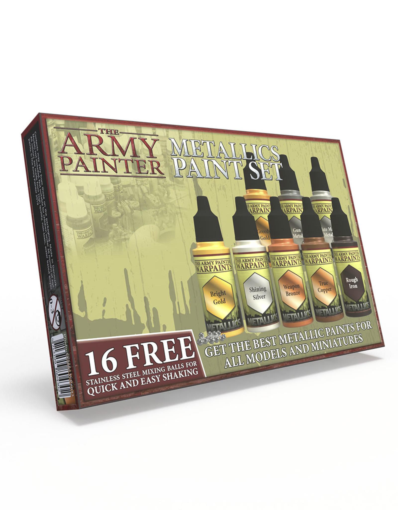 Army Painter: Warpaints: Metallic Paint Set