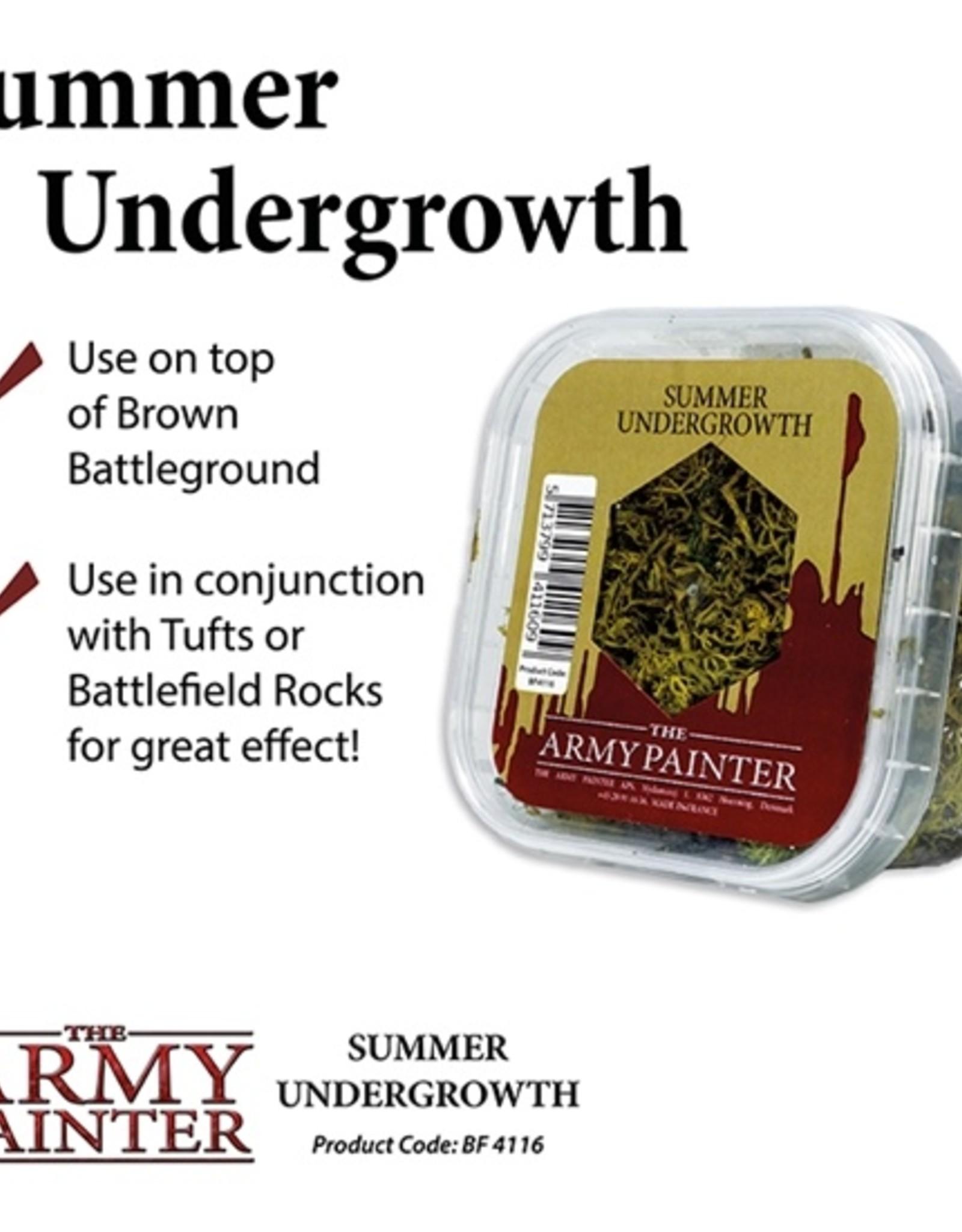 Army Painter: Battlefield: Summer Undergrowth