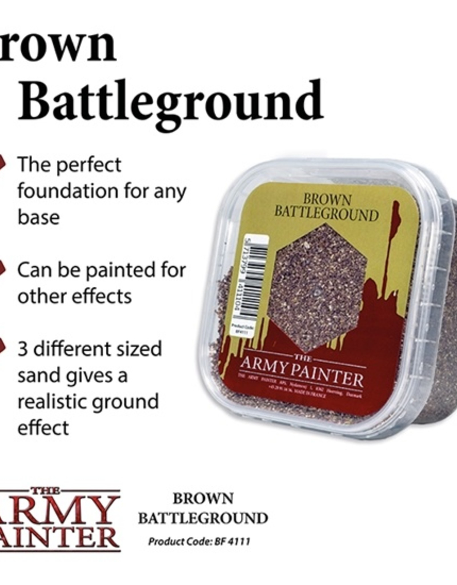 Army Painter: Battlefield: Brown Battleground