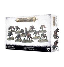 Games Workshop Warhammer Age of Sigmar: Dire Wolves