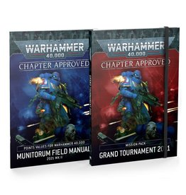 Games Workshop Chapter Approved: Grand Tournament 2021 Mission Pack and Munitorum Field Manual 2021 MkII