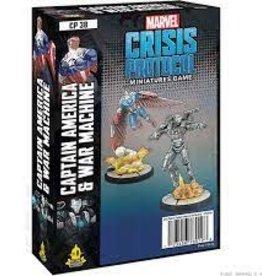 Atomic Mass Games Marvel Crisis Protocol: Captain America and War Machine (Per-Order)