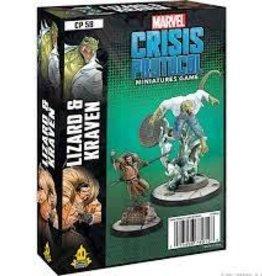 Atomic Mass Games Marvel Crisis Protocol: Lizard and Kraven (Pre-Order)