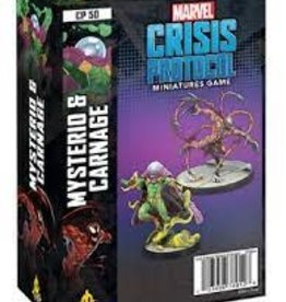 Atomic Mass Games Marvel Crisis Protocol: Mysterio and Carnage (New)