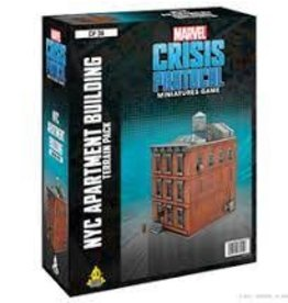 Atomic Mass Games Marvel Crisis Protocol: NYC Apartment Building Terrain (New)