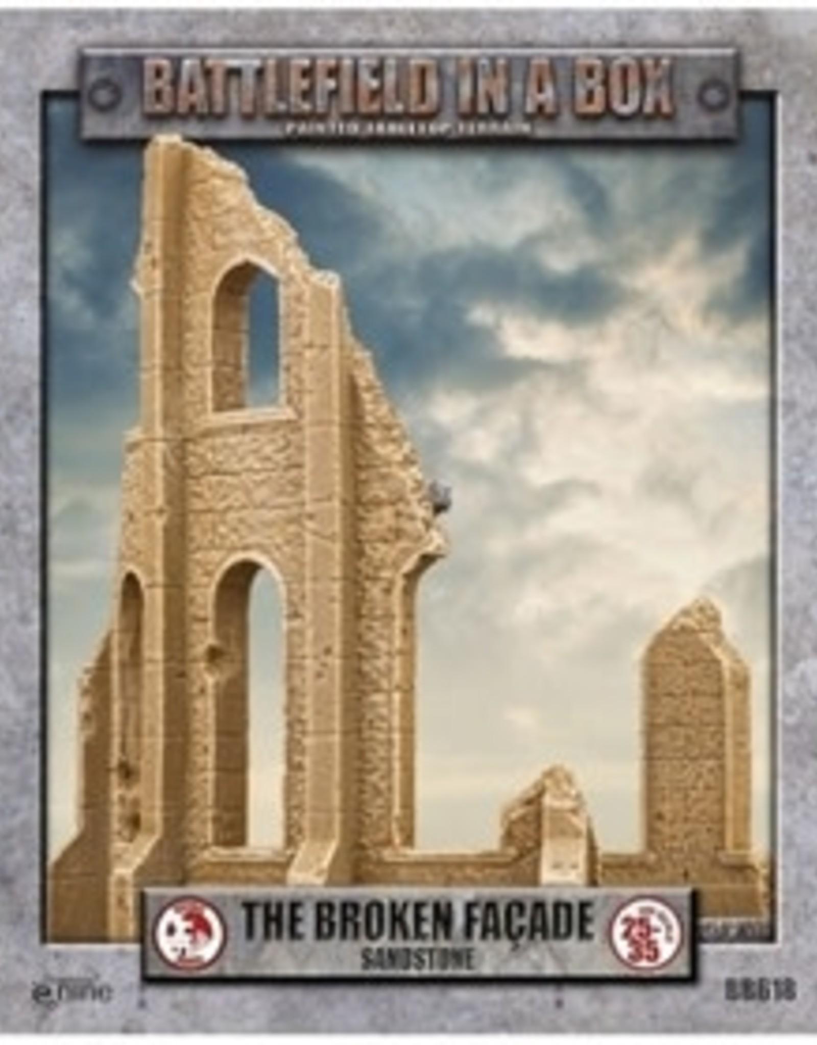 Gale Force Nine Battlefield in a Box: Sandstone The Broken Facade (New)
