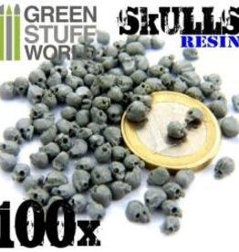 Green Stuff World Green Stuff World: 100x Resin Skulls