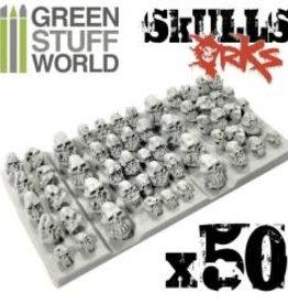 Green Stuff World Green Stuff World: 50x Resin ORK Skulls