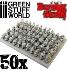 Green Stuff World Green Stuff World: 50x Resin Burning Skulls