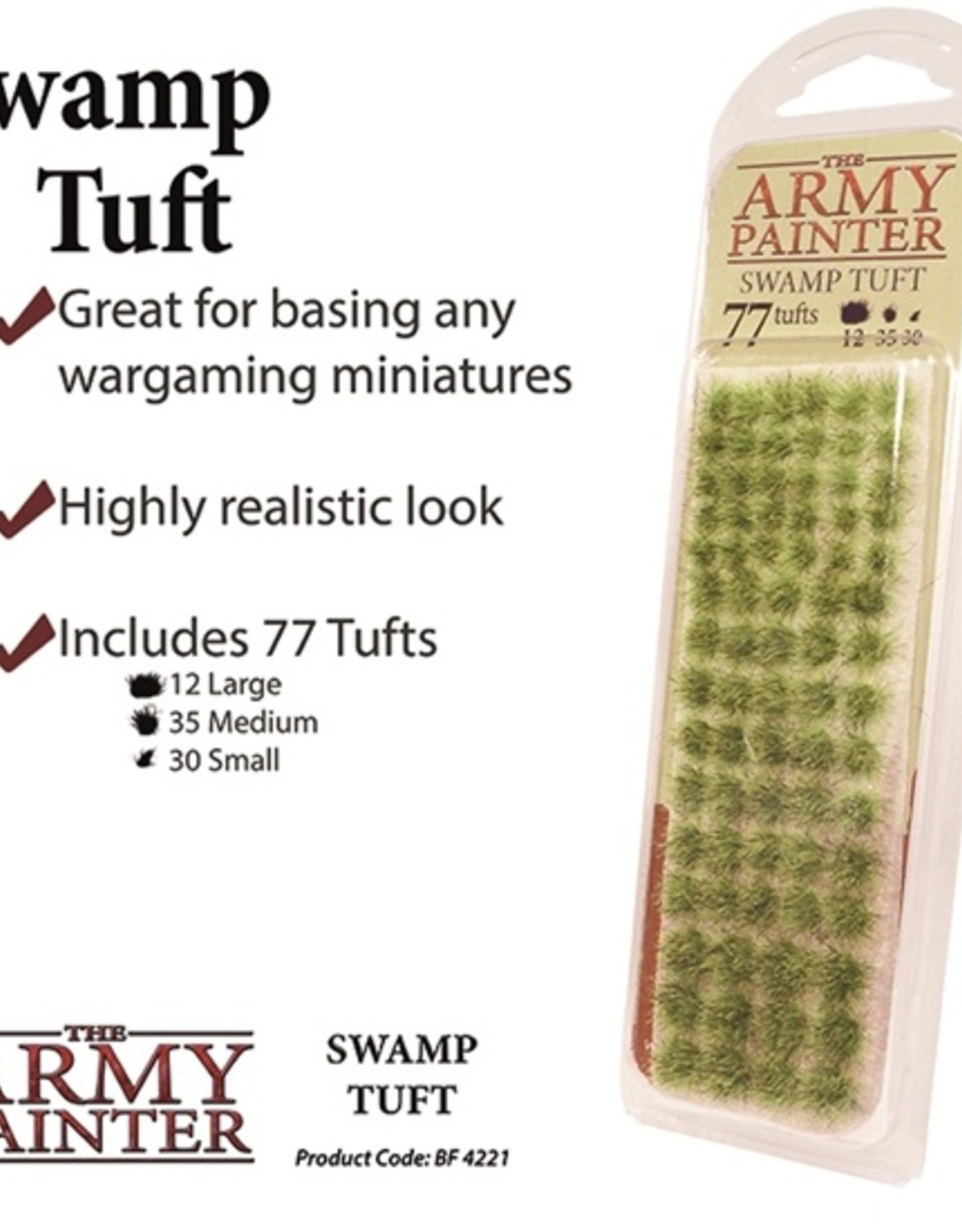 Army Painter: Battlefield: Swamp Tuft (77)