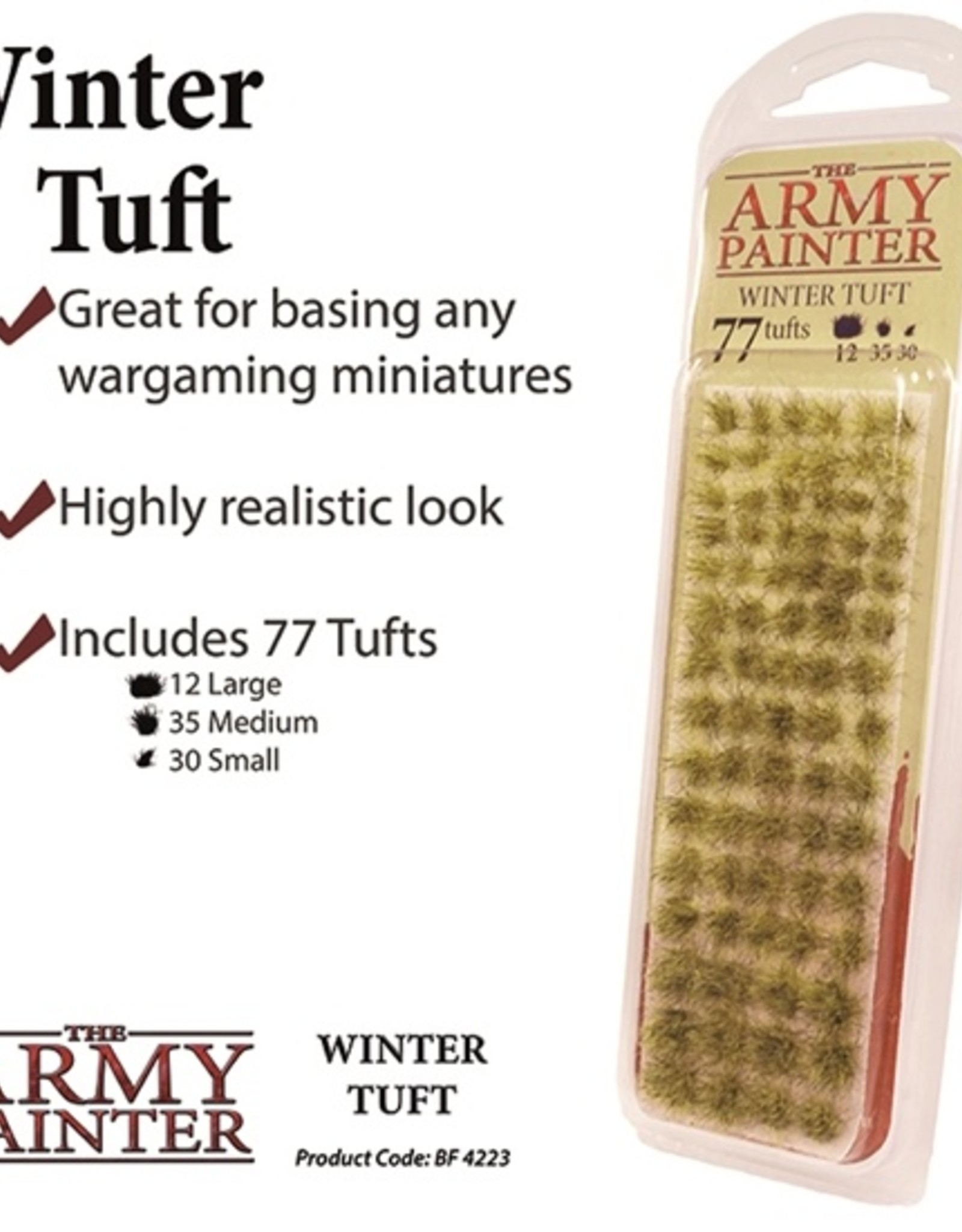 Army Painter: Battlefield: Winter Tufts (77 Tufts)