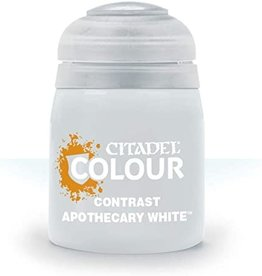 Citadel Paints: Apothecary White (Contrast)