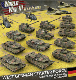 Battlefront Miniatures Team Yankee: West German: Panzeraufklärungs Kompanie (New)