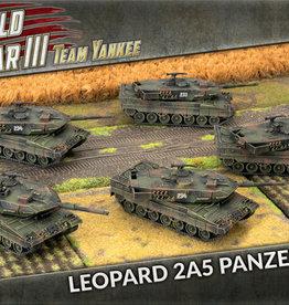 Battlefront Miniatures Team Yankee: German: Leopard 2A5 Panzer Zug (New)