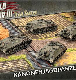Battlefront Miniatures Team Yankee: German: Kanonenjagdpanzer Zug (New)