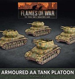 Battlefront Miniatures Flames of War: German: Armoured AA Tank Platoon (x4 Plastic) (New)