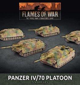 Battlefront Miniatures Flames of War: German: Panzer IV/70 Platoon (New)