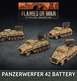 Battlefront Miniatures Flames of War: German: Panzerwerfer 42 Battery (x4) (New)