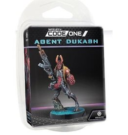 Corvus Belli Infinity: CodeOne: Combined Army Agent Dukash (Multi Rifle)