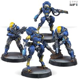 Corvus Belli Infinity : O-12 : Raptor Boarding Squad