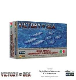 Warlord Games Victory at Sea: Regia Marina Submarines & MTB Sections
