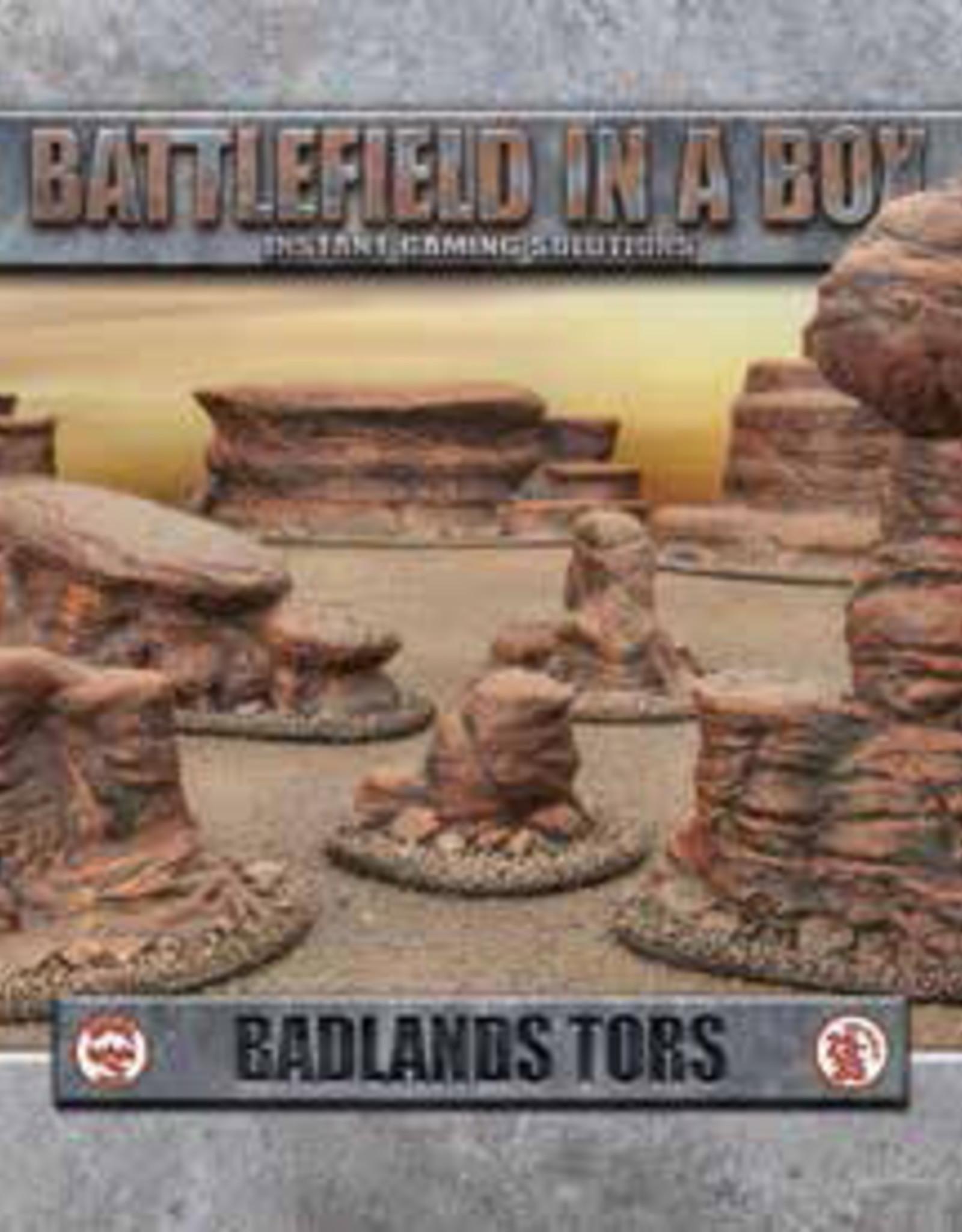 Battlefront Miniatures Battlefield in a Box: Badlands- Tors