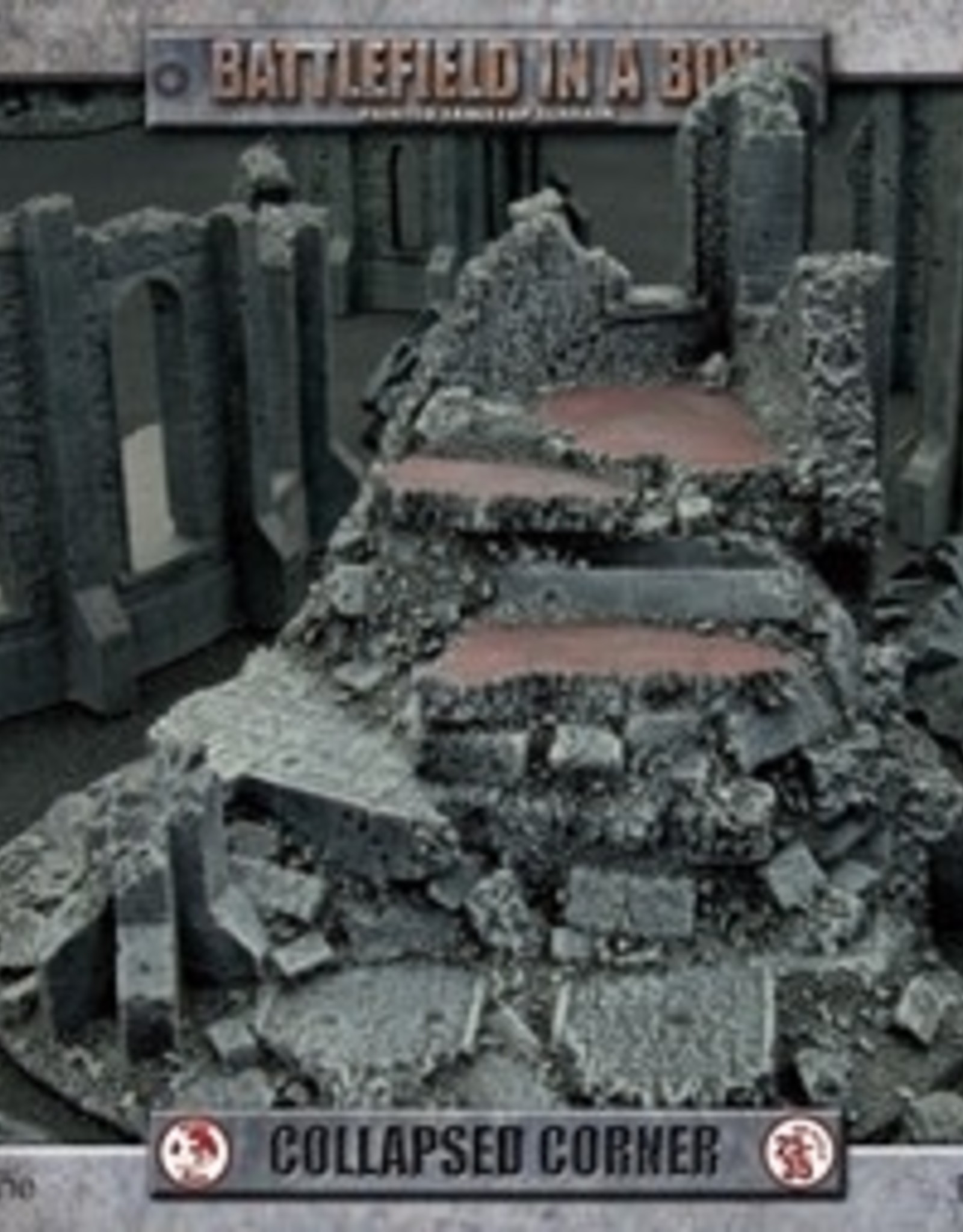 Battlefront Miniatures Battlefield in a Box: Collapsed Corner