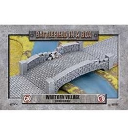 Battlefield in a Box Battlefield in a Box: Wartorn village - Ruined Bridge