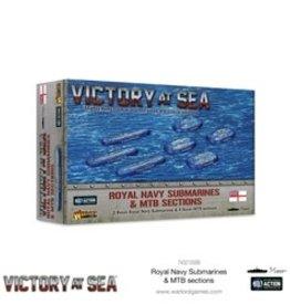 Warlord Games Victory At Sea: Royal Navy Submarines & MTB Sections