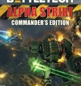 Catalyst Game Labs Battletech: Alpha Strike Commanders Edition (HC)