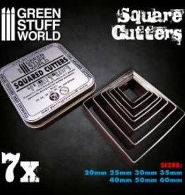 Green Stuff World Green Stuff World: Square Base Cutters