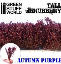 Green Stuff World Green Stuff World: Tall Shrubbery - Autumn Purple