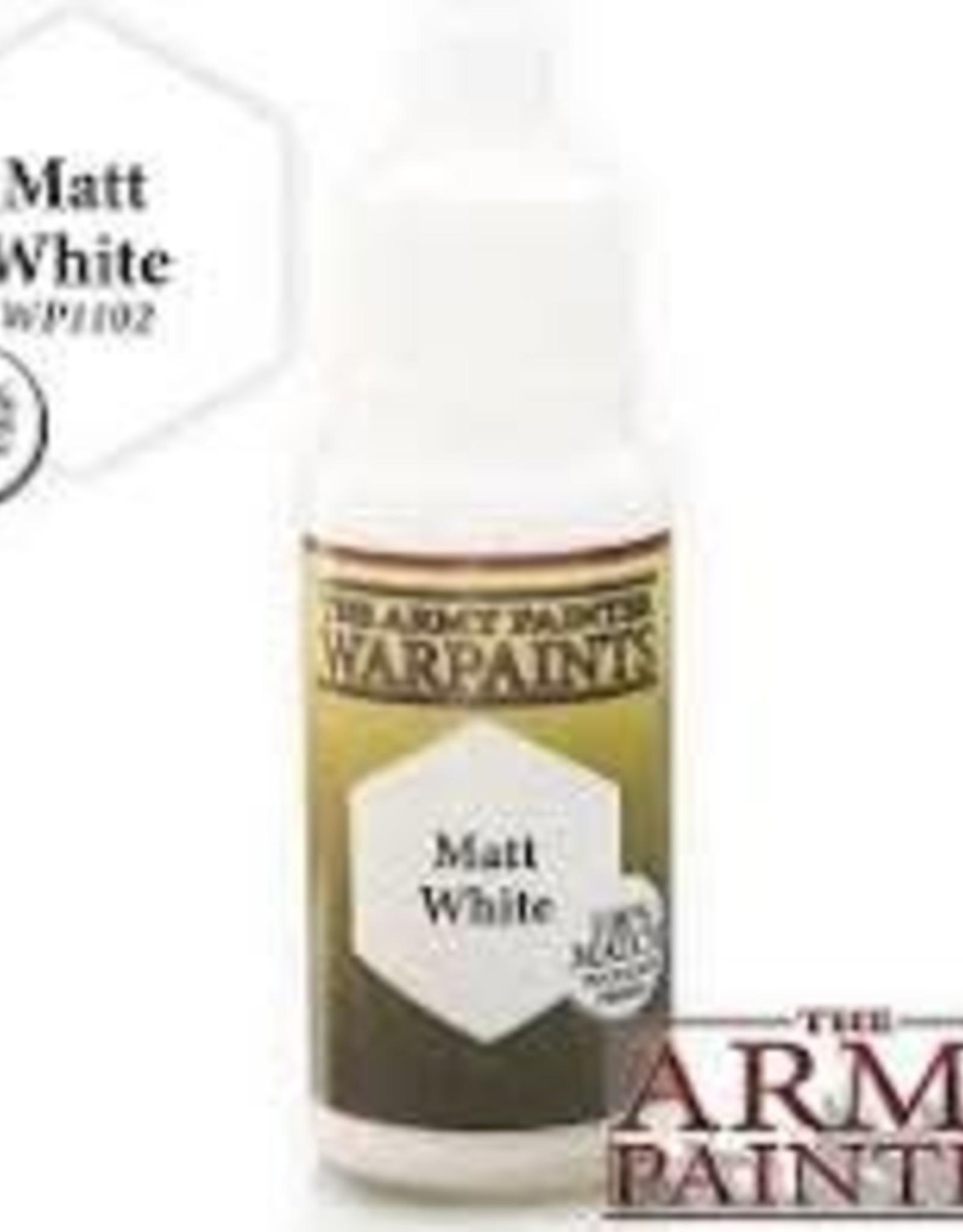 Army Painter Army Painter: Warpaints: Matt White