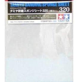 Tamiya Tamiya Sanding Sponge Sheet (320)