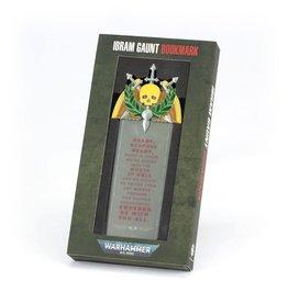 Games Workshop Warhammer 40,000: Ibram Gaunt Bookmark (New)