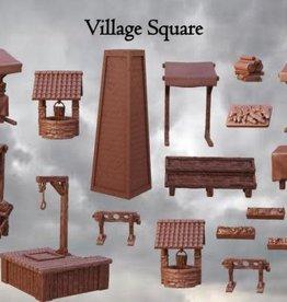 Mantic Terrain Crate: Village Square
