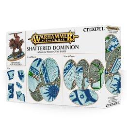 Games Workshop Warhammer Age of Sigmar: Shattered Dominion 60 & 90mm Oval Bases