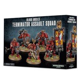 Games Workshop Warhammer 40,000: Blood Angels Terminator Assault Squad