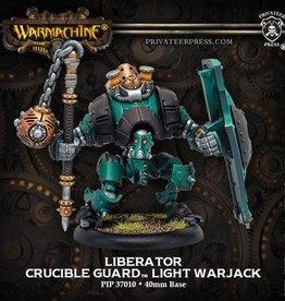 Privateer Press Warmachine: Golden Crucible (37010): Liberator Light Warjack