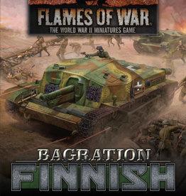 Battlefront Miniatures Flames of War: Bagration: Finnish Command Cards