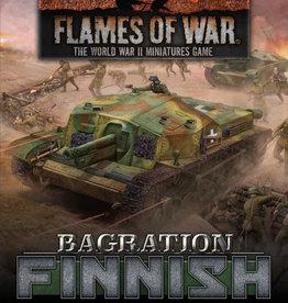 Battlefront Miniatures Flames of War: Bagration: Finnish Unit Cards